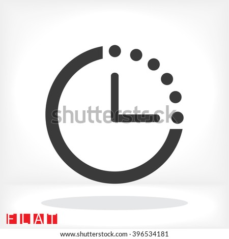 Timer icon, timer pictograph, timer web icon, timer icon vector, timer icon eps, timer icon illustration, timer icon picture, timer flat icon, timer design icon, timer icon art, timer icon jpg - stock vector