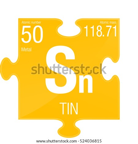 Tin symbol on chemical flask element stock vector 742586620 tin symbol element number 50 of the periodic table of the elements chemistry urtaz Image collections