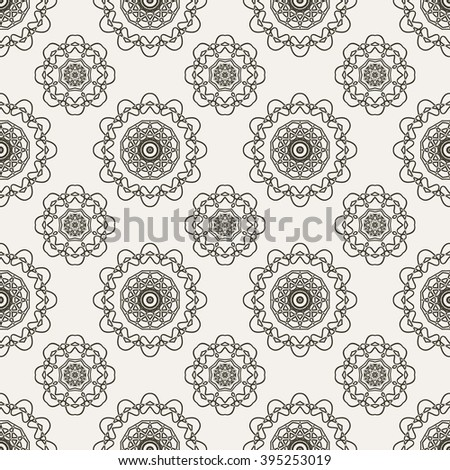 Tints of Romance Seamless pattern