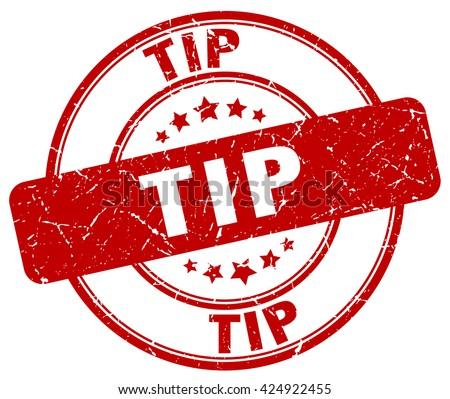 tip red grunge round vintage rubber stamp.tip stamp.tip round stamp.tip grunge stamp.tip.tip vintage stamp. - stock vector