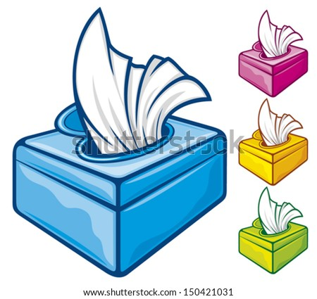 tissue boxes wipes stock vector 2018 150421031 shutterstock rh shutterstock com Baby Walker Clip Art Baby Diapers and Wipes
