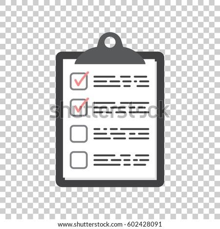 Task List | Do List Icon Checklist Task List Stock Vektorgrafik Lizenzfrei