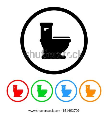 Toilet Flush Icon Stock Images, Royalty-Free Images ...