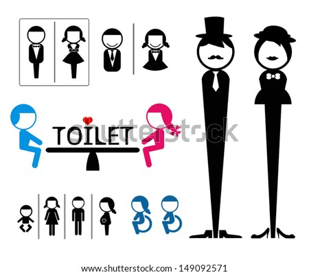 Bathroom Sign Vector Design bathroom sign stock images, royalty-free images & vectors