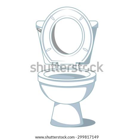 Toilet Seat Vector