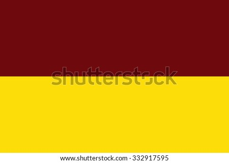 Tolima vector flag, Colombia. Flag of Colombian Department Tolima.  - stock vector