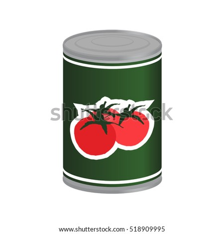 tomatoes in preserved can