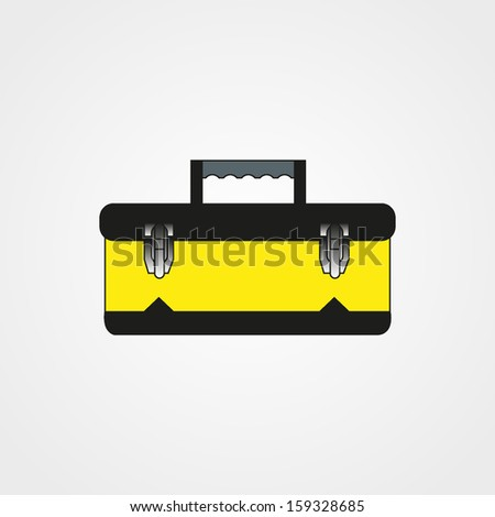 tool box - stock vector