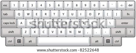 tool - silhouette illustration - stock vector
