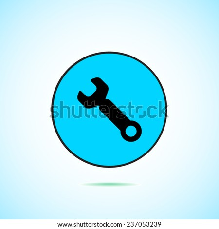 Tool vector icon - stock vector