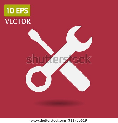 tool vector icon 10 EPS