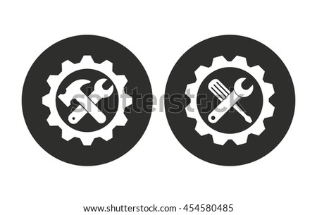 Tool vector icon. Illustration isolated for graphic and web design. - stock vector