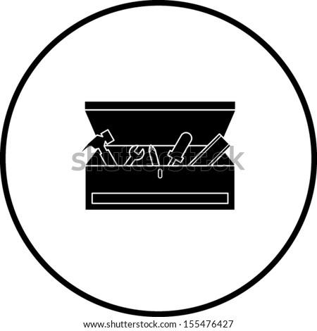 open toolbox clipart. toolbox symbol open clipart n