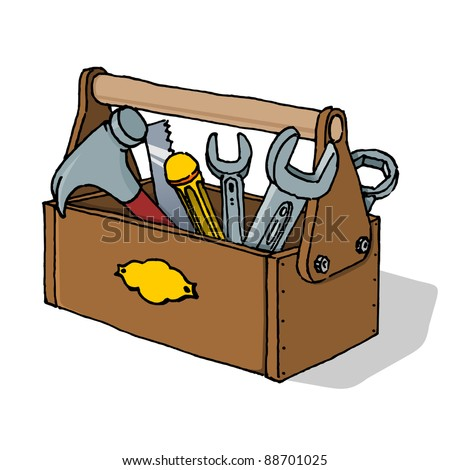 Toolbox Vector Illustration - stock vector