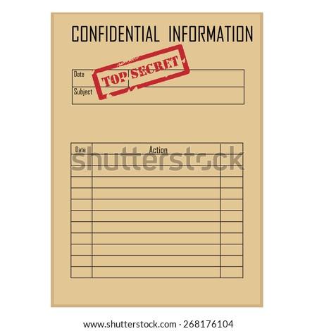Top Secret Red Rubber Stamp On Stock-Vektorgrafik