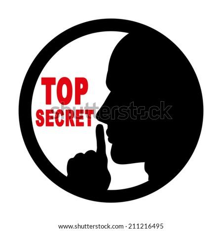 Secret Top Sign Warning Stock Photos, Secret Top Sign ...