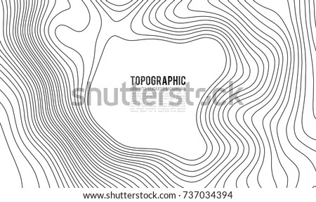 Topographic map contour background topo map stock vector 2018 topographic map contour background topo map with elevation contour map vector geographic world gumiabroncs Images