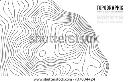 Topographic map contour background topo map stock vector 737034424 topographic map contour background topo map with elevation contour map vector geographic world gumiabroncs Images