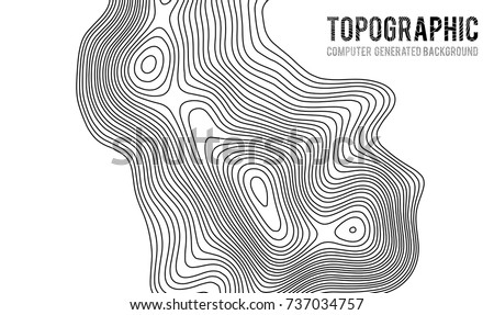 Topographic map contour background topo map stock vector 737034757 topographic map contour background topo map with elevation contour map vector geographic world gumiabroncs Images