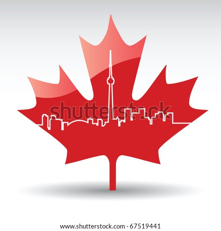 Toronto - stock vector