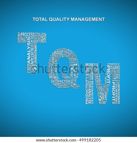 a background to total quality management The purpose of quality management, however, still remains the same as it has, all through history - to ensure that customers receive an excellent, quality product back to total quality management recent articles.