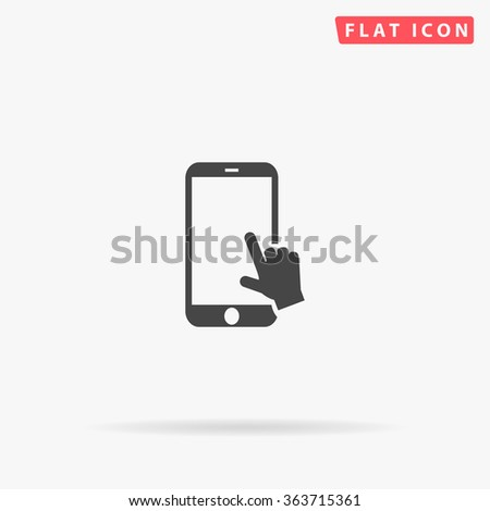 Touch screen Icon Vector. Touch screen Icon JPEG. Touch screen Icon Picture. Touch screen Icon Image. Touch screen Icon JPG. Touch screen Icon EPS. Touch screen Icon AI. Touch screen Icon Drawing - stock vector