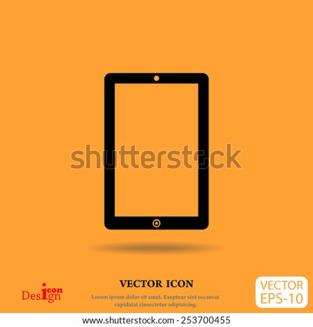 touchpad vector icon - stock vector