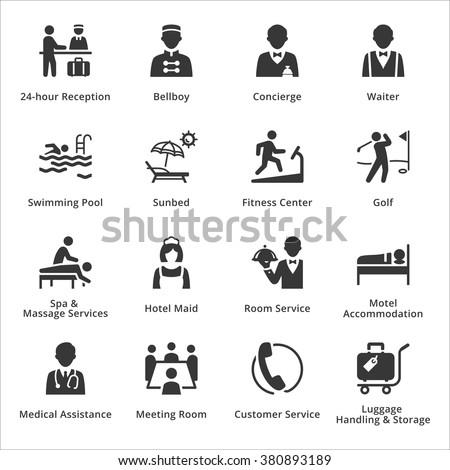 Tourism & Travel Icons - Set 2 - stock vector