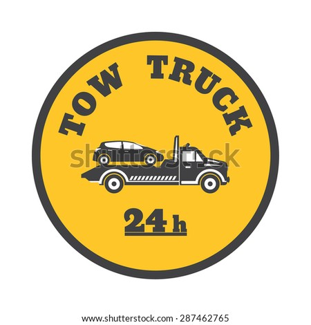 tow truck icon stock images, royalty-free images & vectors