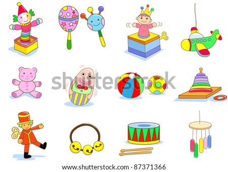 toy - stock vector
