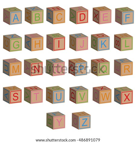 Block Letters Stock Royalty Free & Vectors