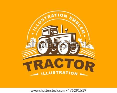 Tractor Stock Vectors Images Amp Vector Art Shutterstock