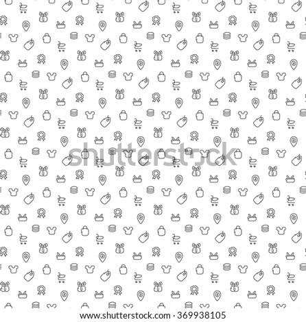 Trade sale pattern seamless. Vector illustration. EPS 10. - stock vector