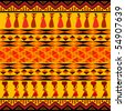 Traditional african pattern - stock vector