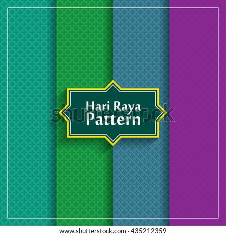 Traditional Arabian pattern. - stock vector