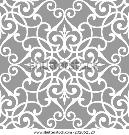 Traditional Arabic seamless pattern. Abstract background. - stock vector