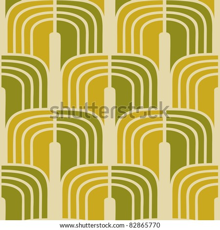 Traditional Asian oriental seamless pattern wallpaper - stock vector