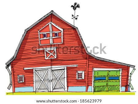 Wooden Fence Ranch Style Stock Photos Illustrations And Vector Art