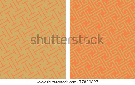 traditional celtic patterns - stock vector
