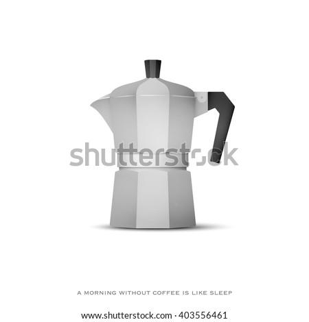 Italian Coffee Maker Vector : Espresso Maker Stock Images, Royalty-Free Images & Vectors Shutterstock