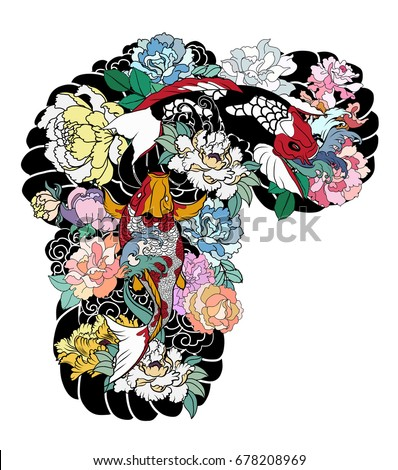 japanese tattoo stock images royalty free images