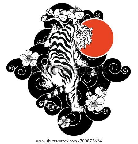 Japanese Art Tattoos Design Traditional Japanese Tiger Tattoo Tiger