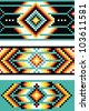 Traditional Native American patterns, vector - stock vector