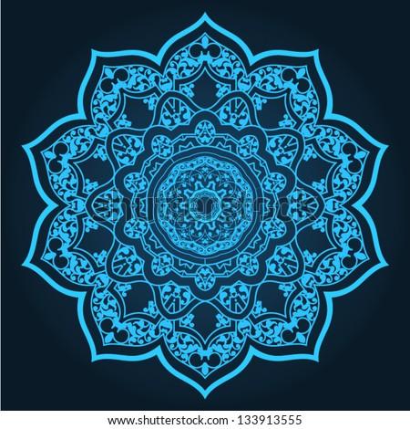 Traditional Persian-Islamic Pattern - stock vector