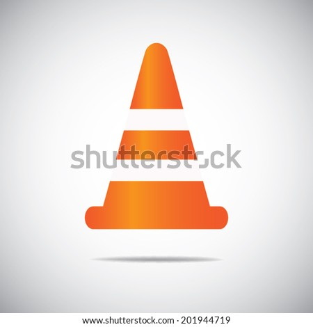 Traffic Cones - stock vector