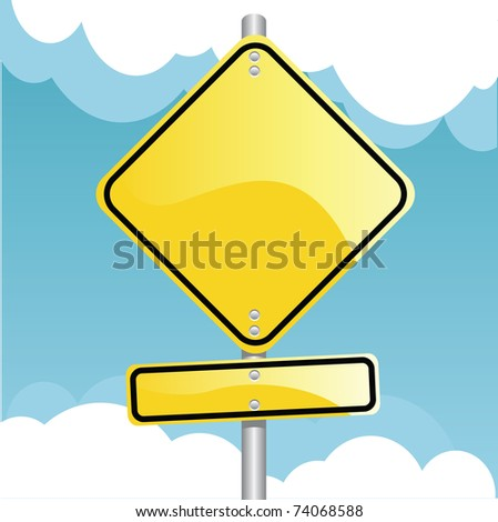 traffic sign - stock vector