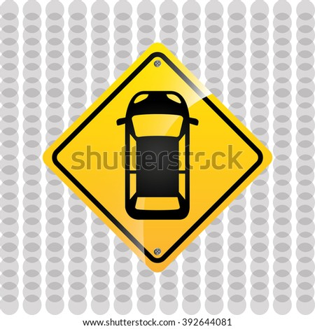 traffic sign design, vector illustration eps10 graphic
