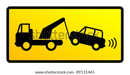Traffic sign - no parking - stock vector
