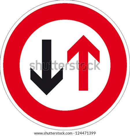 traffic sign no passing