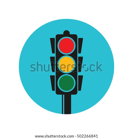 traffic light pole vector stock vector 389843077 shutterstock rh shutterstock com light vector software light vector mesons
